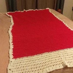 Blanket 31 across/57 long.